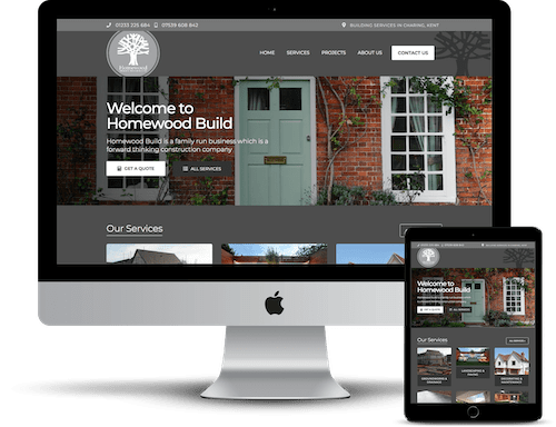 Homewood Business Website