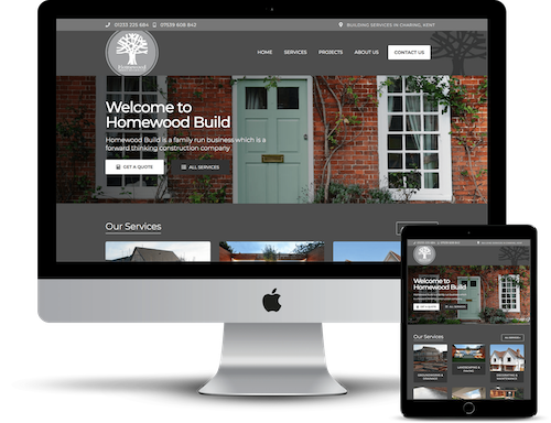 Homewood Responsive Website