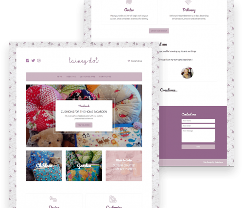 Portfolio for a Crafts Website in New Romney