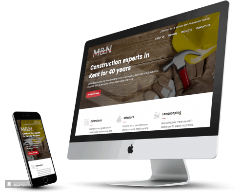 M&N Builders Business Website