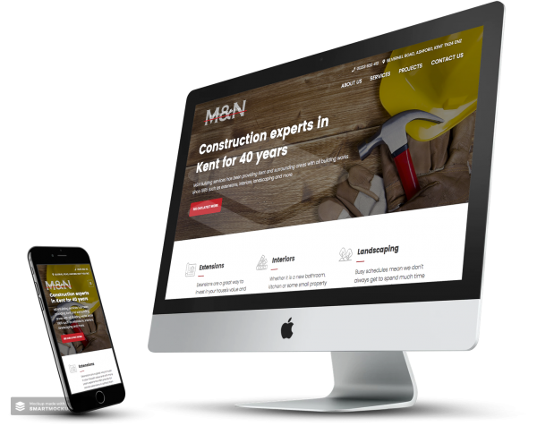 M&N Builders Website Case Studies