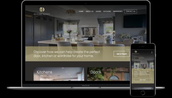 Bespoke Design Responsive Website